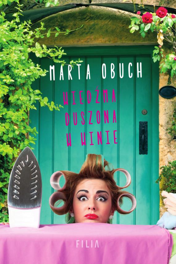 okładka Wiedźma duszona w winie. Ebook | EPUB, MOBI | Marta Obuch