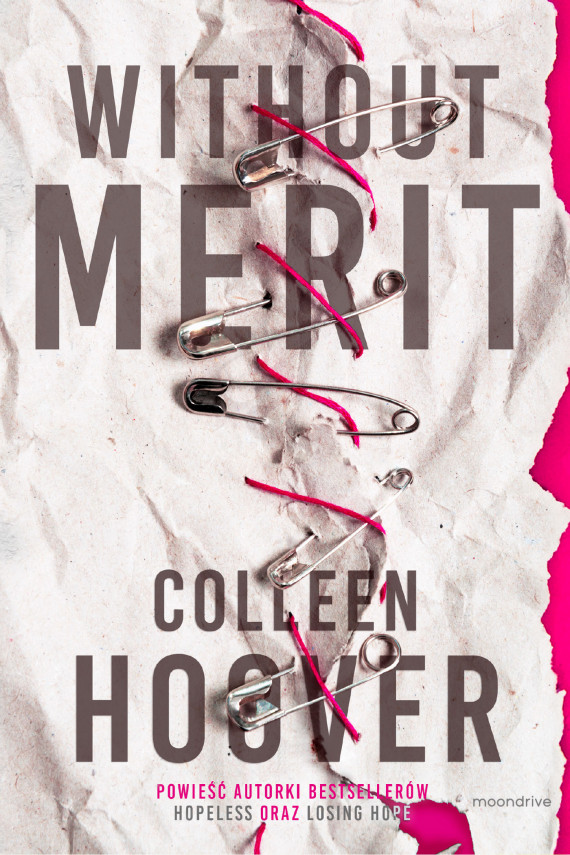 okładka Without Merit. Ebook | EPUB, MOBI | Colleen Hoover
