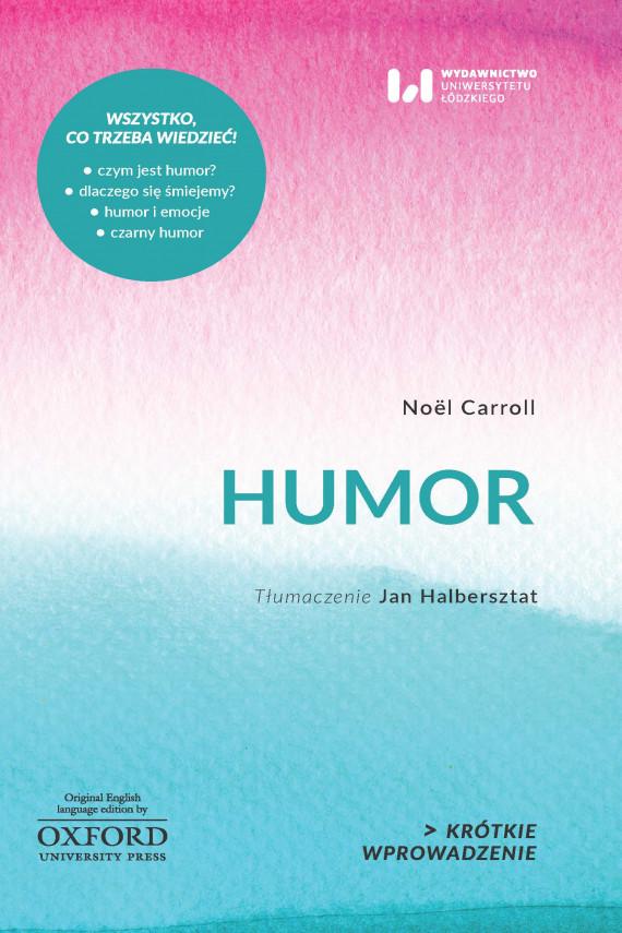 okładka Humorebook | EPUB, MOBI | Noël Carroll, Jan Halbersztat