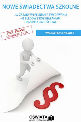 okładka Nowe świadectwa szkolne, Ebook | Wanda  Pakulniewicz