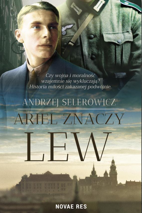 okładka Ariel znaczy lew. Ebook | EPUB, MOBI | Andrzej Selerowicz