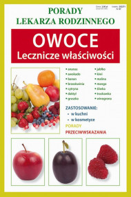 okładka Owoce. Lecznicze właściwości. Ebook | papier | Anna  Kubanowska