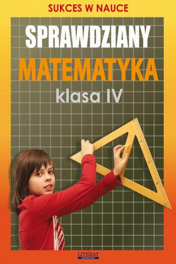 okładka Sprawdziany. Matematyka Klasa IVebook | PDF | Agnieszka  Figat-Jeziorska