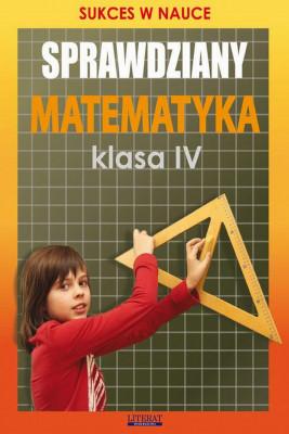 okładka Sprawdziany. Matematyka Klasa IV, Ebook | Agnieszka  Figat-Jeziorska
