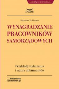 okładka Wynagradzanie pracowników samorządowych. Ebook | papier | Małgorzata Terlikowska