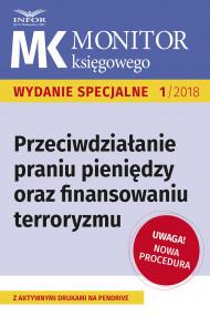 okładka Przeciwdziałanie praniu pieniędzy oraz finansowaniu terroryzmu – nowe procedury. Ebook | papier | Kamila Grabowska
