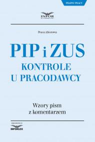 okładka PIP i ZUS Kontrole u pracodawcy. Ebook | papier | Praca zbiorowa