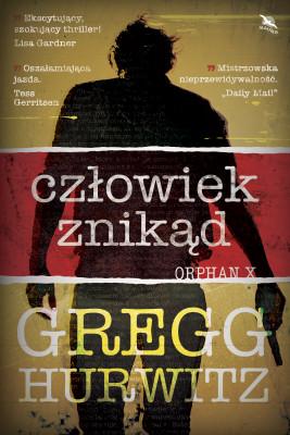okładka CZŁOWIEK ZNIKĄD, Ebook   Gregg Hurwitz, Maria Gębicka-Frąc