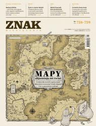 okładka Miesięcznik Znak nr 758-759: Mapy objaśniają mi świat, Ebook | autor  zbiorowy