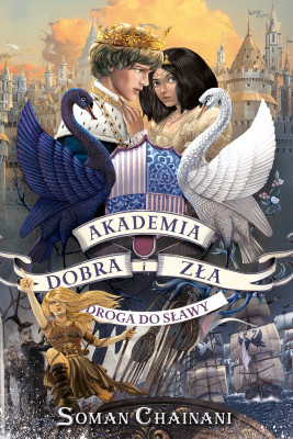 okładka Akademia Dobra i Zła 4. Droga do sławy, Ebook | Soman Chainani