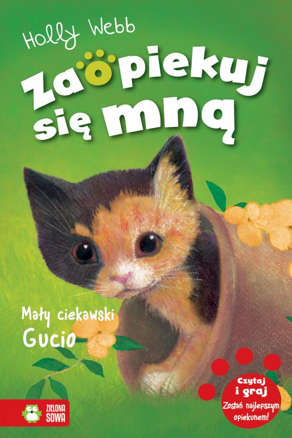 okładka Mały ciekawski Gucioebook | EPUB, MOBI | Holly Webb