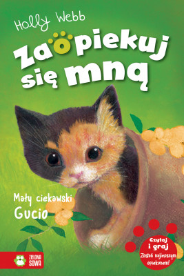 okładka Mały ciekawski Gucio, Ebook | Holly Webb