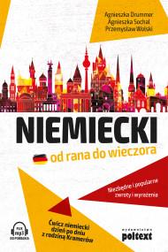 okładka Niemiecki od rana do wieczora, Ebook | Agnieszka Drummer, Agnieszka Sochal, Przemysław Wolski
