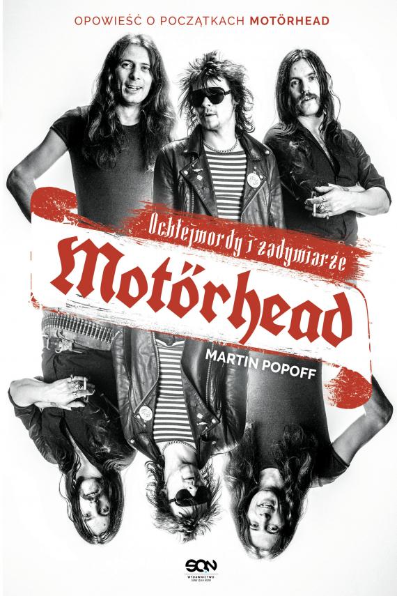 okładka Motorhead. Ochlejmordy i zadymiarzeebook | EPUB, MOBI | Martin Popoff