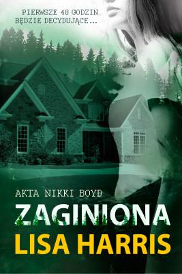 okładka Zaginiona, Ebook | Lisa Harris