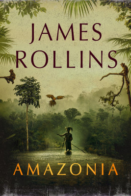 okładka Amazonia, Ebook | James Rollins