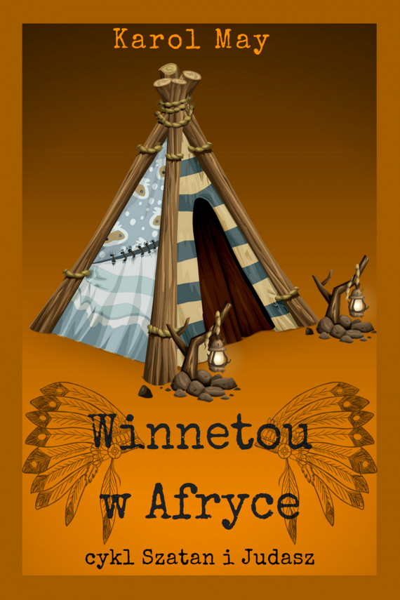 okładka Szatan i Judasz: Winnetou w Afryce. Tom 5ebook | EPUB, MOBI | Karol May