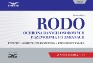 okładka RODO. Ochrona danych osobowych. Przewodnik po zmianach z nową ustawą ODO. Ebook | Barbara Pióro