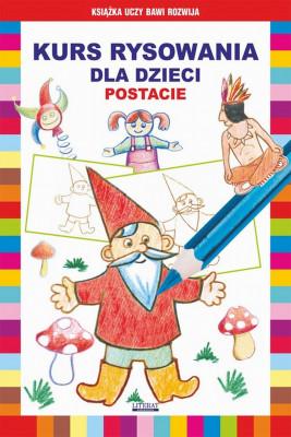 okładka Kurs rysowania dla dzieci. Postacie, Ebook | Krystian  Pruchnicki, Mateusz  Jagielski