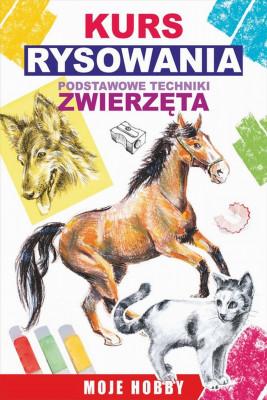 okładka Kurs rysowania. Podstawowe techniki. Zwierzęta, Ebook | Mateusz  Jagielski