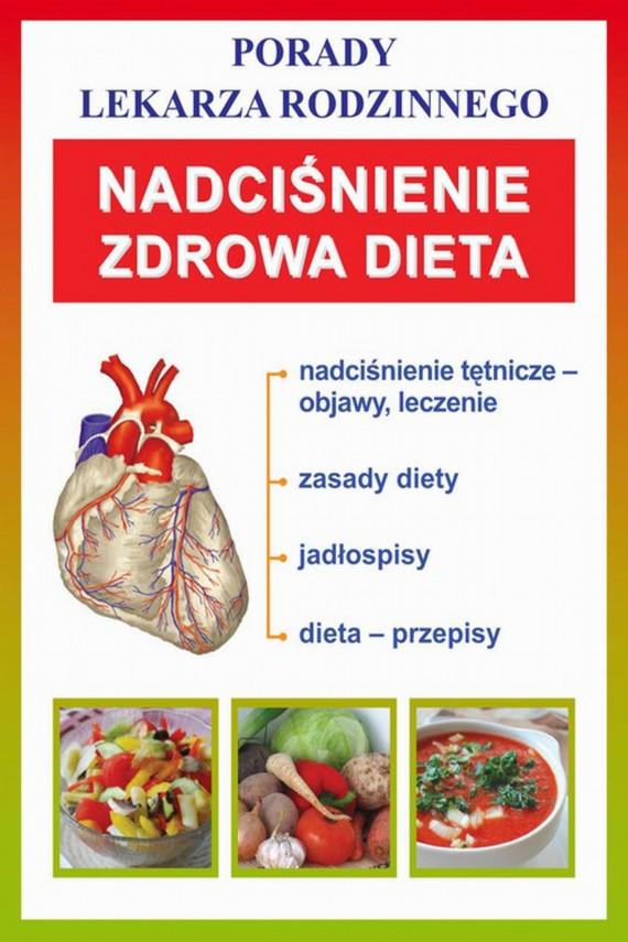 okładka Nadciśnienie. Zdrowa dietaebook | PDF | Praca zbiorowa