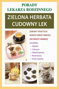 okładka Zielona herbata. Cudowny lek, Ebook | Anna  Kubanowska