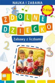 okładka Zdolne dziecko. Zabawy z liczbami, Ebook | Joanna  Paruszewska