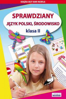 okładka Sprawdziany. Język polski. Środowisko Klasa II, Ebook | Beata  Guzowska, Iwona  Kowalska