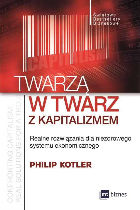 okładka Twarzą w twarz z kapitalizmemebook | EPUB, MOBI | Philip Kotler