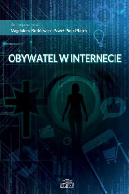 okładka Obywatel w internecie, Ebook   Magdalena  Butkiewicz, Paweł  Płatek