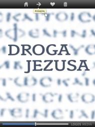 okładka DROGA JEZUSA. Ewangelia według Łukasza. przekład dynamiczny. Ebook | papier | Logos Media