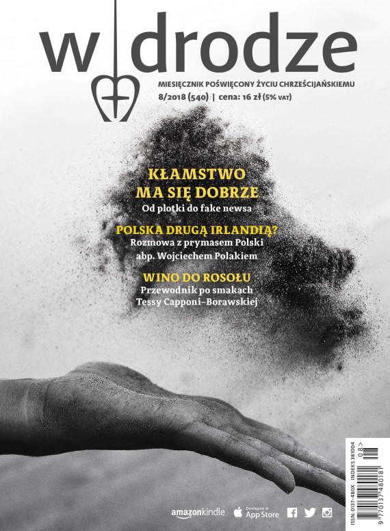 okładka miesięcznik W drodze nr 8/2018ebook   EPUB, MOBI   Opracowanie zbiorowe