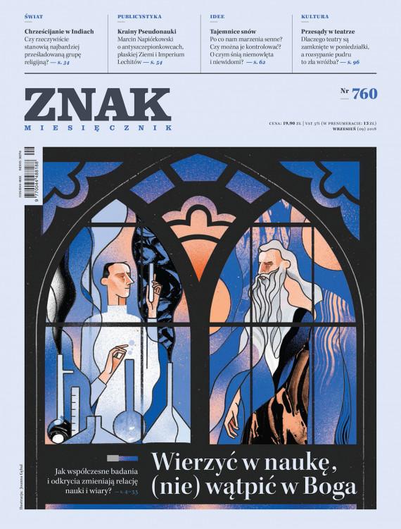 """okładka Miesięcznik """"Znak"""" nr 760ebook   EPUB, MOBI   autor  zbiorowy"""