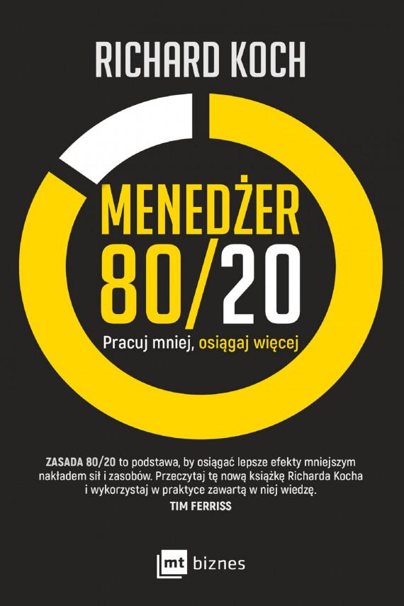 okładka Menedżer 80/20ebook | EPUB, MOBI | Richard Koch