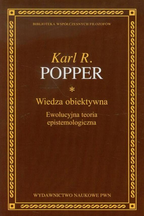 okładka Wiedza obiektywnaebook | EPUB, MOBI | Karl R. Popper