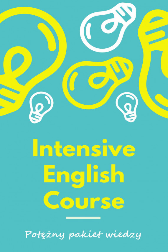 "okładka Angielski - 10 ebooków ""Intensive English Course""ebook | PDF | Katarzyna Frątczak"