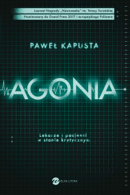 okładka Agonia. Ebook | papier | Kapusta Paweł