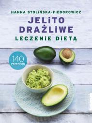 okładka Jelito drażliwe. Leczenie dietą., Ebook   Stolińska-Fiedorowicz Hanna