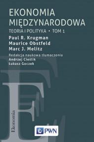 okładka Ekonomia międzynarodowa Tom 1. Ebook | Maurice Obstfeld, Paul R. Krugman, Marc J.  Melitz