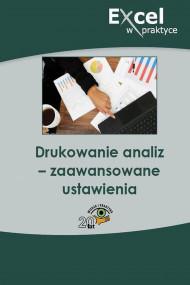 okładka Drukowanie analiz – zaawansowane ustawienia, Ebook | Praca zbiorowa