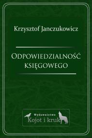 okładka Odpowiedzialność księgowego. Ebook | Krzysztof Janczukowicz