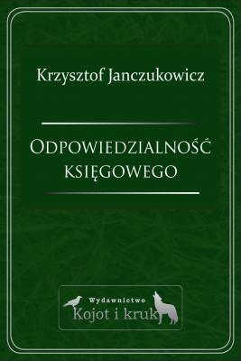 okładka Odpowiedzialność księgowego, Ebook | Krzysztof Janczukowicz