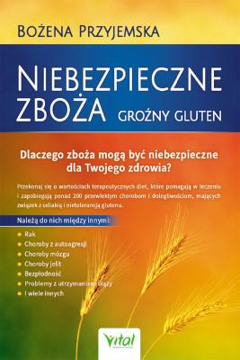 okładka Niebezpieczne zboża. Groźny gluten, Ebook | Bożena Przyjemska