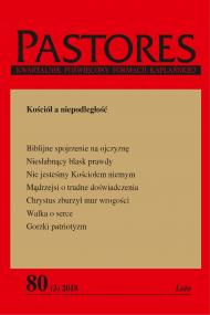 okładka Pastores 80 (3) 2018, Ebook | Zespół Redakcyjny
