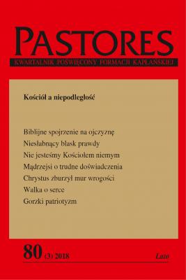 okładka Pastores 80 (3) 2018, Ebook   Zespół Redakcyjny