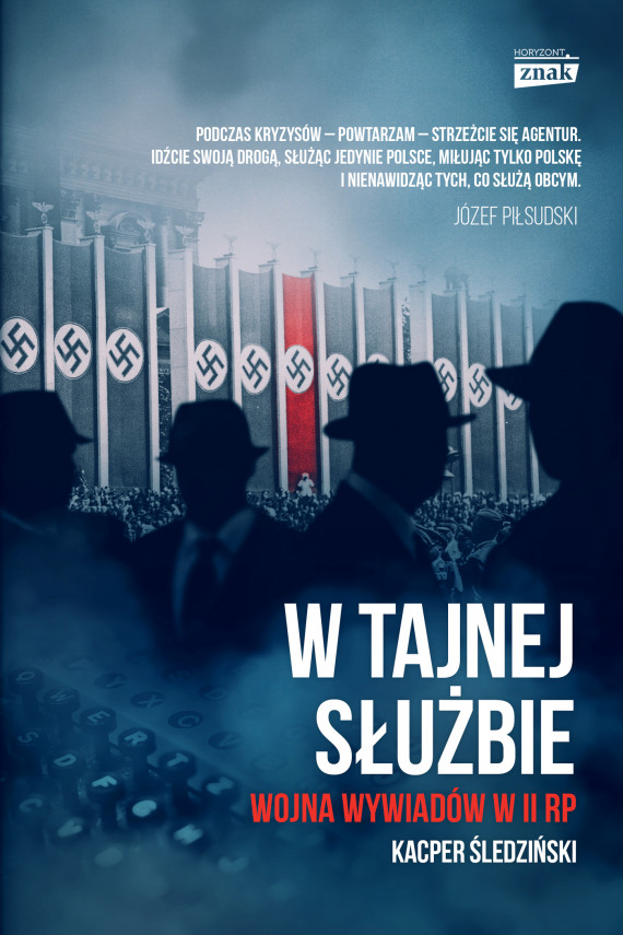 okładka W tajnej służbieebook | EPUB, MOBI | Kacper Śledziński