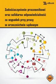 okładka Zadośćuczynienie pracownikowi oraz solidarna odpowiedzialność za wypadek przy pracy w orzecznictwie sądowym, Ebook | Anna  Słowińska