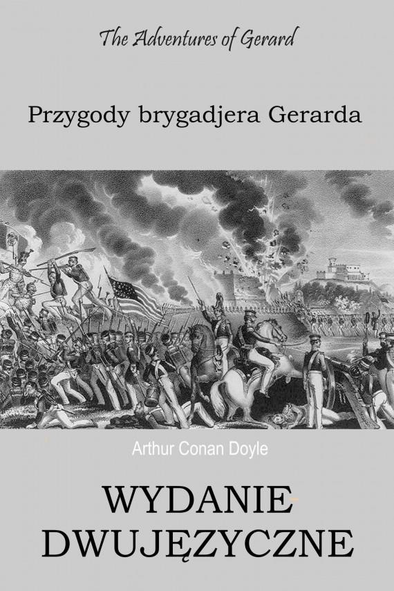 okładka Przygody brygadjera Gerarda WYDANIE DWUJĘZYCZNEebook   PDF   Arthur Conan Doyle