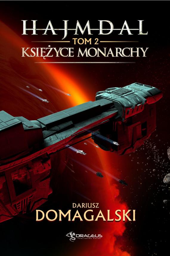 okładka Hajmdal. Tom 2. Księżyce Monarchyebook | EPUB, MOBI | Dariusz  Domagalski