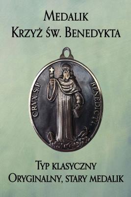 okładka Medalik Krzyż św. Benedykta. Typ klasyczny, Ebook | Jerzy Gwiazda